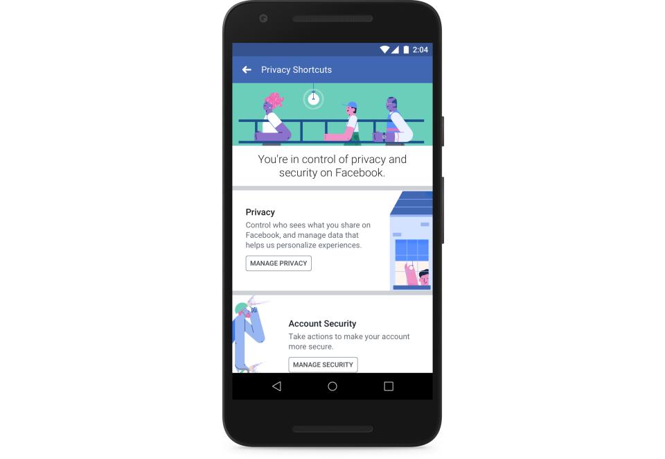 privacy-shortcuts facebook