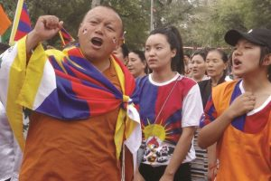 Tibetans mark anniversary of protests