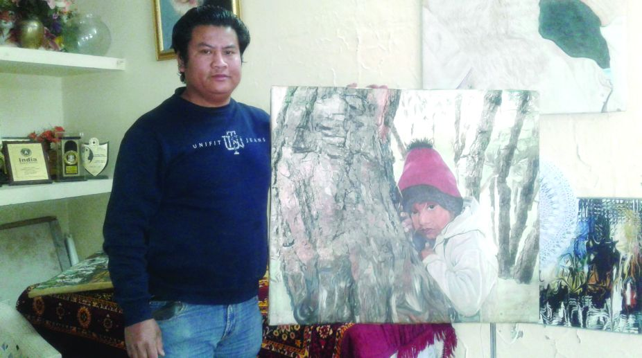 Mukesh Thapa, artwork, creative paintings