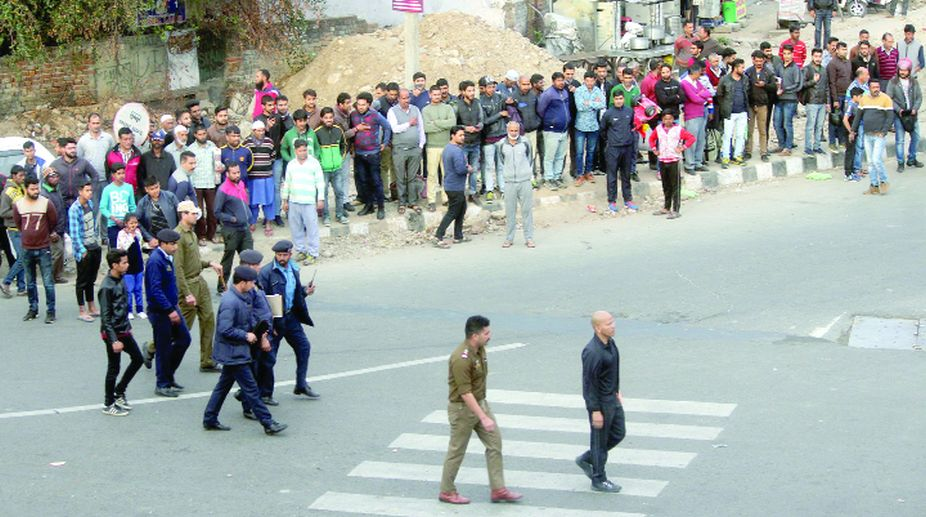 IPS officer, Basant Rath, Traffic violators, J&K Police