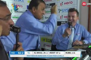 Watch: Sunil Gavaskar performing 'Naagin' dance in commentary box will make you ROFL