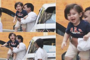 Taimur Ali Khan's smiling pictures will wipe away your mid-week blues