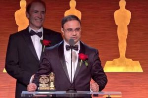 Oscars 2018: Vikas Sathaye honoured with Oscar plaque for steadycam helicopter mount