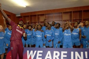 Rain sends West Indies into World Cup
