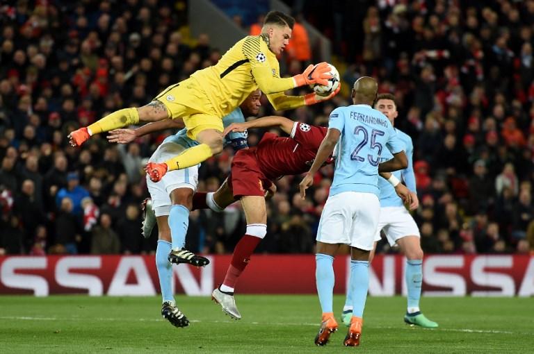 Ederson, Manchester City F.C., Premier League, UEFA Champions League