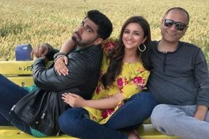 'Namastey England': Arjun, Parineeti shoot at unexplored Dargah in Punjab