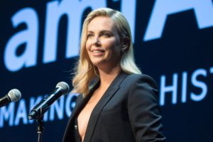 Charlize Theron considering leaving US over racism