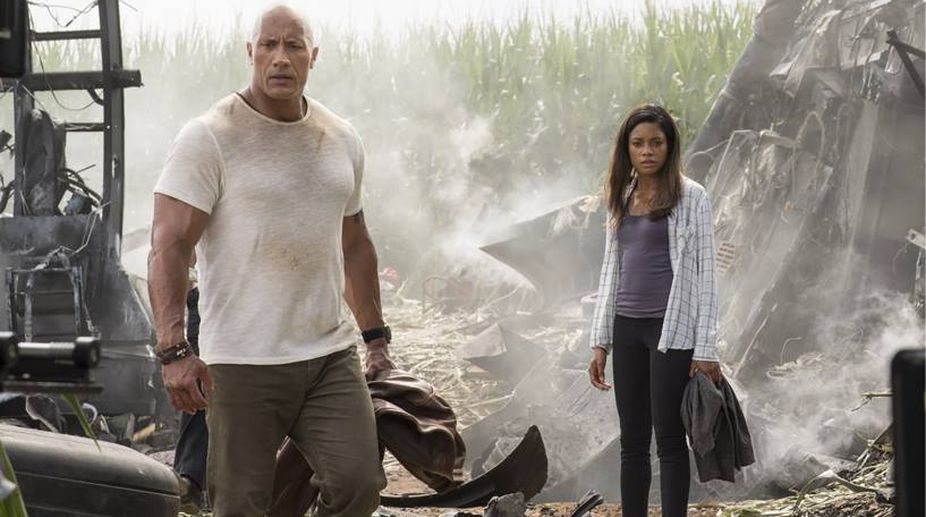 'Rampage': Run-of-the-mill monster mayhem drama