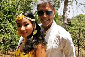In pics: Wedding bells for Milind Soman and Ankita Konwar in Alibaug