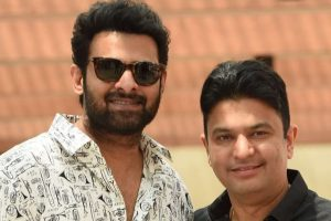 Bhushan Kumar comes on-board for Prabhas' 'Saaho'