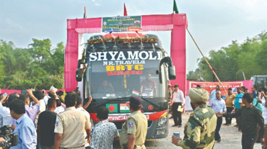 Trial run of Bangladesh-Nepal bus service begins