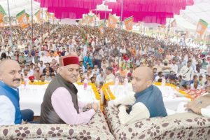 Ensuring law and order is our utmost task: Jai Ram