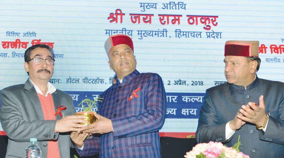 Jai Ram Thakur, HIV/AIDS, Tuberculosis, AIDS Control Society