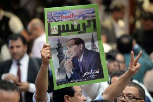 Abdel Fattah al-Sisi re-elected Egypt President in landslide win