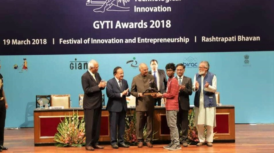Abhik Saha -GYTI awardee