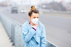 Brief exposure to air pollutants can trigger lung infection