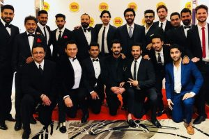 Ranbir Kapoor, Arjun Kapoor, Abhishek Bachchan kicked the ball in the swing in Singapore