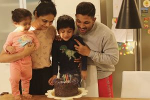 Happy Birthday Allu Arjun: These 4 pictures prove he is a family man