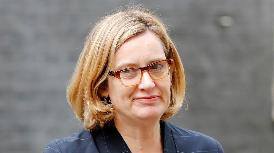 Amber Rudd UK interior Minister