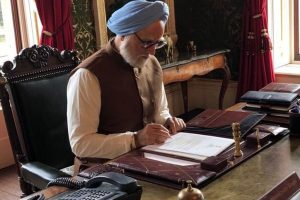 Glimpses from the sets of Anupam Kher's 'The Accidental Prime Minister'
