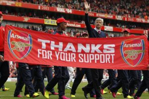 Arsene Wenger will step down as Arsenal's manager after 2017/18 season
