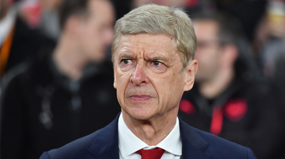 Arsene Wenger Arsenal F.C. Premier League UEFA Europa League