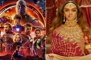 'Avengers: Infinity War' three-day collection surpasses 'Padmaavat' in India