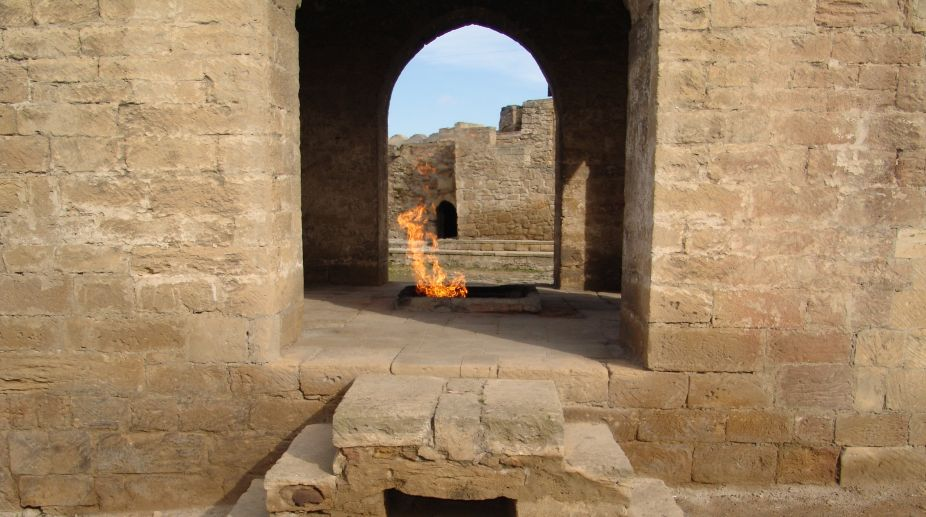 Fire temple Baku Ateshgah