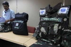 Bhabha Kavach: CAPF to get BARC's lightweight bulletproof jackets