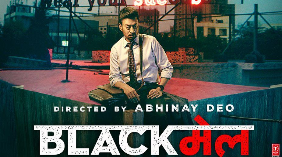 Blackmail, Blackmail movie review, Irrfan film, Abhinay Deo