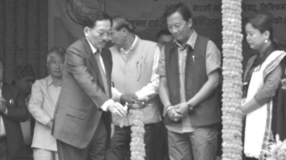 Pawan Chamling, Binoy Tamang, GTA, Kurseong