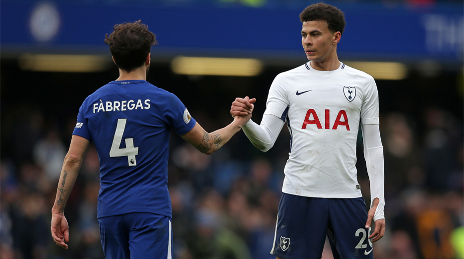 Cesc Fabregas, Dele Alli, Tottenham Hotspur F.C., Chelsea F.C., Premier League, Chelsea vs Tottenham Hotspur F.C.