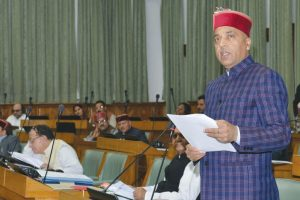 Himachal can't manage without loans: Jai Ram