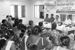 Mahila Arogya Samiti and ICDS hold programme on safe motherhood