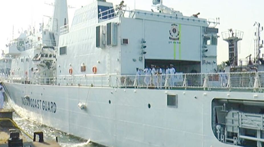 Paradip Port Trust, Indian Coast Guard ship, naval museum, Ministry of Defence