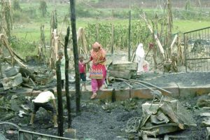 Fire tragedy leaves Rohingyas traumatised