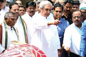 CM Patnaik sows seeds during auspicious Akhaya Trituya