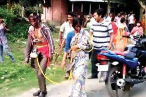 Raiganj village couple tonsured, paraded over adultery slur
