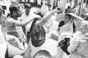 55 BJP nominations filed for gram panchayat seats in Burdwan East