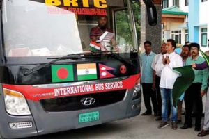 With buses come tourism, trade hopes