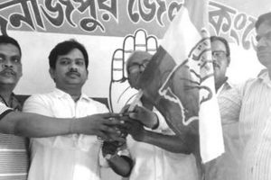In S Dinajpur, TMC leader joins Cong