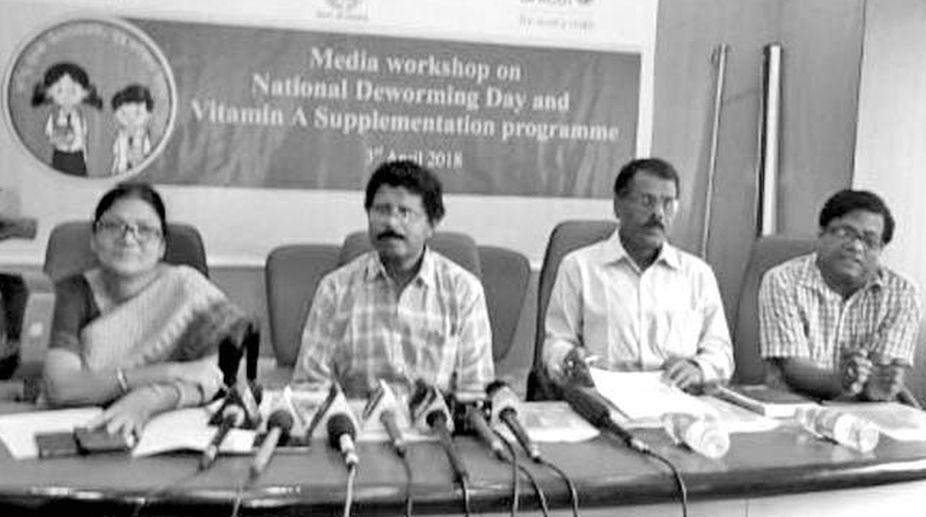 ADCH-cum-Director Family Welfare (I/C) Dr Kamalakanta Das.