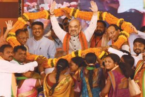 BJP will abide by existing quota policy: Shah
