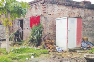 Govt targets hundred per cent household toilets