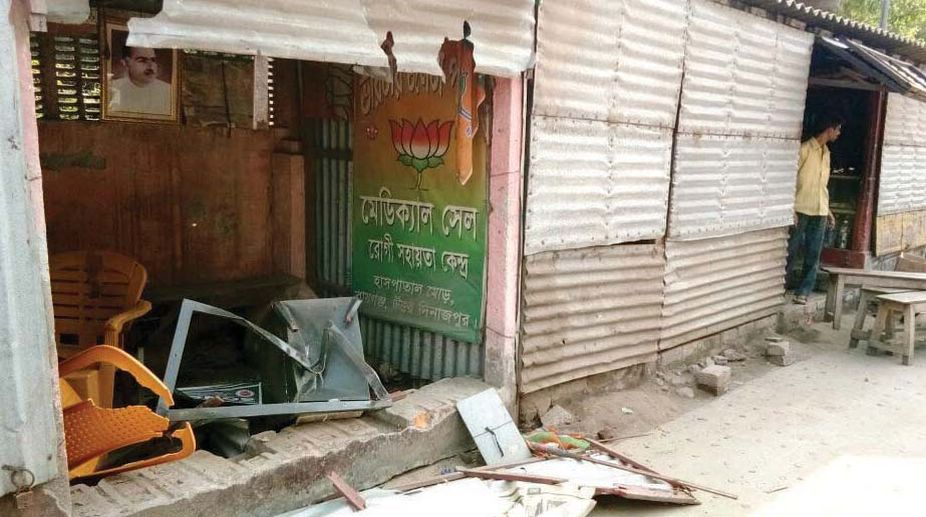 75-yr-old CPIM leader attacked in Bengal ahead of panchayat polls