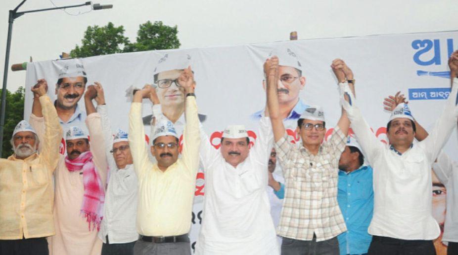 AAP , BJP, Sanjay Singh, Naveen Patnaik