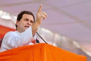 Rahul leads protest against 'skyrocketing' fuel prices, slams PM Modi govt in video