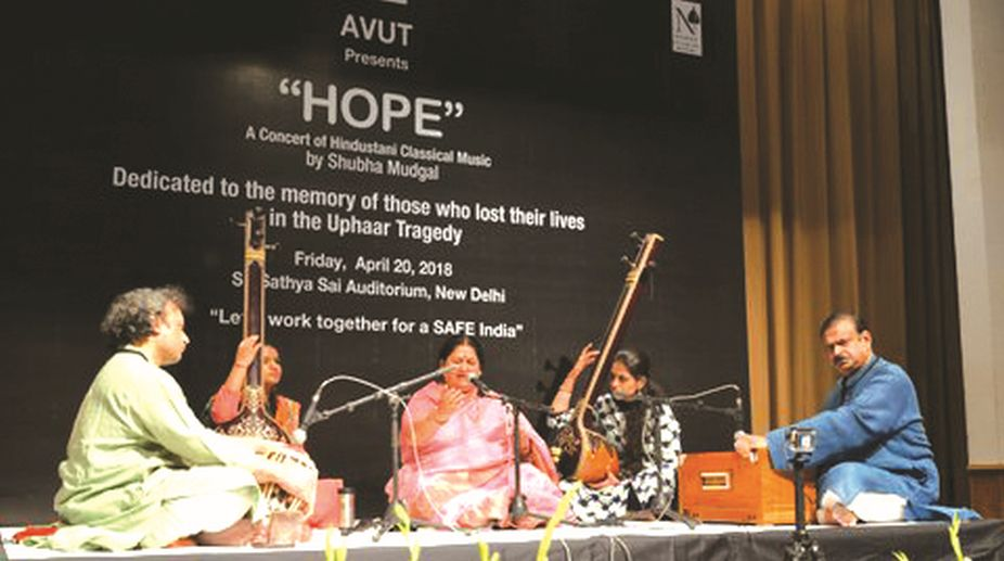 Music, Uphaar fire tragedy, AVUT, Shubha Mudgal