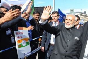 '10 engagements in 10 hours' as Narendra Modi begins 'hectic' Sweden visit