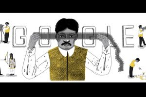 Google Doodle remembers Dadasaheb Phalke on his 148th birthday